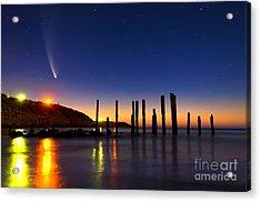 Comet Mcnaughts Acrylic Print by Bill  Robinson