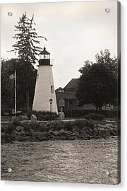 Concord Point Lighthouse Acrylic Print by Gordon Beck