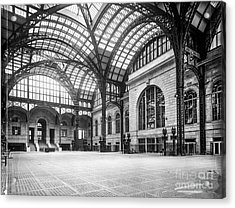 Concourse Pennsylvania Station New York Acrylic Print by Russ Brown