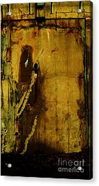 Concrete Canvas Acrylic Print by Reb Frost