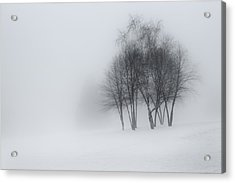 Connecticut Winter Dream Acrylic Print by Bill Wakeley