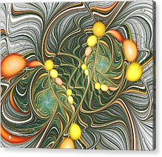 Connections Acrylic Print by Anastasiya Malakhova