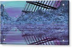 Construction And Destruction Acrylic Print by Wayne Bonney
