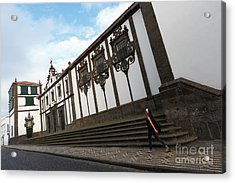 Convent In Azores Islands Acrylic Print by Gaspar Avila