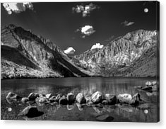 Convict Lake Near Mammoth Lakes California Acrylic Print by Scott McGuire