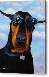 Cool Dob Acrylic Print by Billie Colson