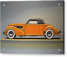 Cord 810 1937 Painting Acrylic Print by Paul Meijering