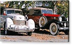 Cord Packard Acrylic Print by Paul  Trunk