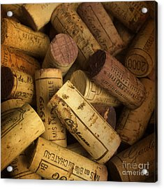 Corks Acrylic Print by Bernard Jaubert