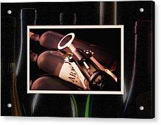 Corkscrew Matted Acrylic Print by Tom Mc Nemar