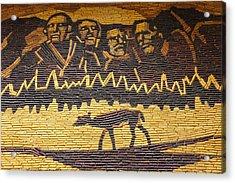 Corn Art At Corn Palace 02 Acrylic Print by Art Spectrum