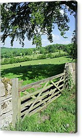 Cotswolds Acrylic Print by Soundimageplus