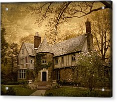 Country Estate Acrylic Print by Jessica Jenney