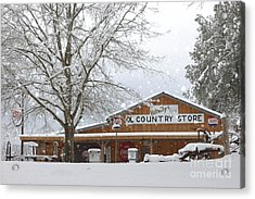 Country Store Acrylic Print by Benanne Stiens