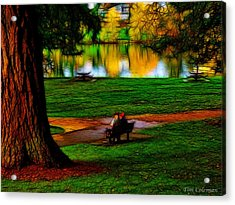 Couple's Therapy Acrylic Print by Tim Coleman