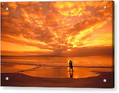 Couples Vacation Acrylic Print by Dave Fleetham - Printscapes
