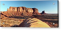 Cowboy Days Of The West Acrylic Print by Paul Cannon