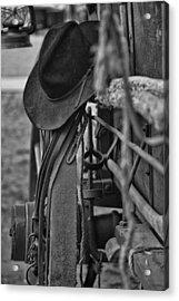 Cowboy Hat  Acrylic Print by Toni Hopper