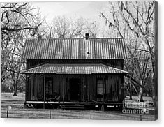 Cracker Cabin Acrylic Print by David Lee Thompson