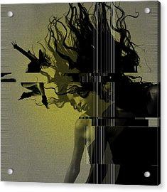 Crash Acrylic Print by Naxart Studio