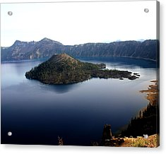 Crater Lake 2 Acrylic Print by Marty Koch