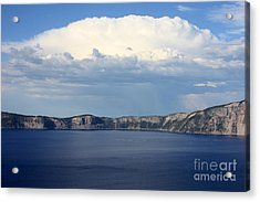 Crater Lake Acrylic Print by Carol Groenen