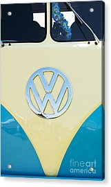 Cream And Blue  Acrylic Print by Tim Gainey