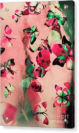 Creative Butterfly Background Acrylic Print by Jorgo Photography - Wall Art Gallery
