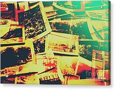 Creative Retro Film Photography Background Acrylic Print by Jorgo Photography - Wall Art Gallery