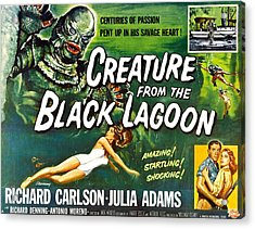 Creature From The Black Lagoon, Upper Acrylic Print by Everett
