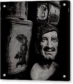 Creepy Old Stuff II Acrylic Print by Marco Oliveira