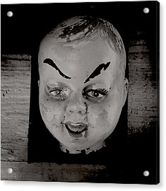 Creepy Old Stuff Iv Acrylic Print by Marco Oliveira
