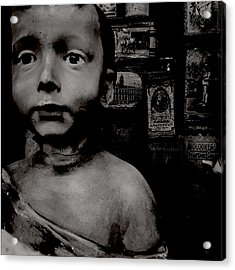 Creepy Old Stuff Acrylic Print by Marco Oliveira