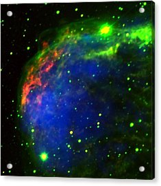 Crescent Nebula Acrylic Print by Jim Ellis
