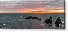 Cresting Of Colors Acrylic Print by Jon Glaser