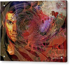 Crimson Requiem Acrylic Print by John Robert Beck