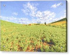 Crops II Acrylic Print by Jon Glaser