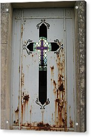 Cross To Cross Acrylic Print by Nell Werner