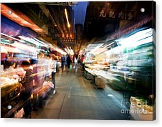 Crowds Moving Through Jordan Acrylic Print by Ray Laskowitz - Printscapes
