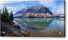 Crowfoot Reflection Acrylic Print by Chad Dutson