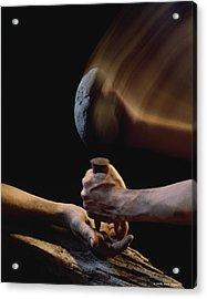 Crucifixion Acrylic Print by Ken Slater