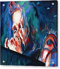 Love Is Sweet Misery. Steven Tyler  Acrylic Print by Tanya Filichkin