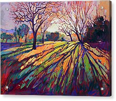 Crystal Light Acrylic Print by Erin Hanson