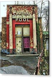 Crystal Pool II Acrylic Print by Steven Ainsworth