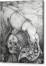 Ctulhu Seedpods Acrylic Print by Otto Rapp