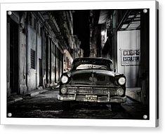 Cuba 20 Acrylic Print by Marco Hietberg
