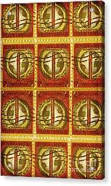 Cuba Stamp Acrylic Print by Brian Drake - Printscapes