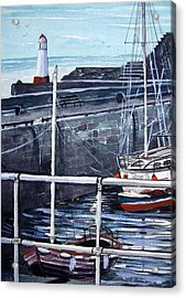 Cullen Beacon Acrylic Print by Trudy Kepke