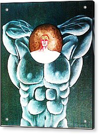 Cult To The Body Acrylic Print by Paulo Zerbato