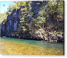 Current River 7 Acrylic Print by Marty Koch
